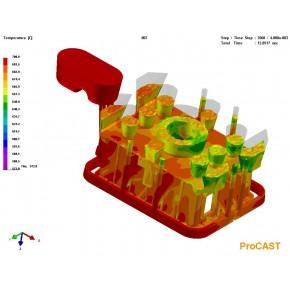 ProCAST2019有限元铸造模拟重力铸造軟件经销商报价采购电话技术培训