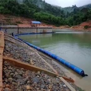 江面垃圾隔離帶水源地警示浮漂施工方案