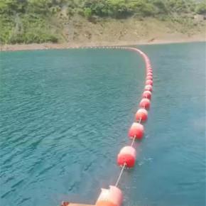 水面環保材质塑料浮筒 喷子警示塑料浮筒价格