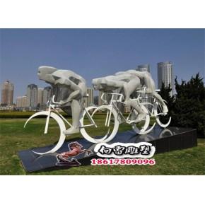 运动人物雕塑