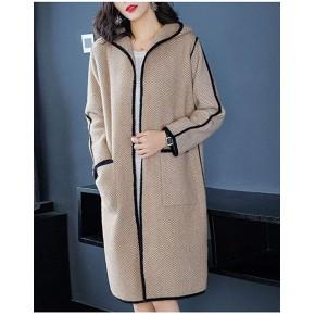服装店一次拿货多少衣之庄园手缝双面羊绒呢大衣女