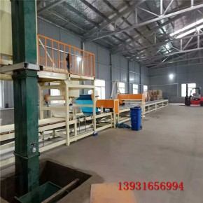 水泥砂浆岩棉复合板设备厂家指导生产方法