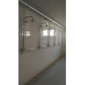 学校控水淋浴系统 计量限时刷卡澡堂热水表 IC卡付费水控机