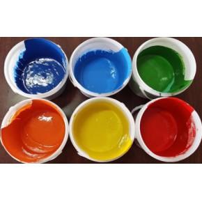 厂家直销环保水性色浆用于文教用品如水彩颜普通蜡笔丙稀颜料