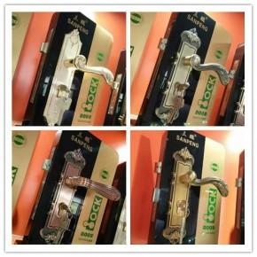 专业生产304不锈钢防火门锁分体锁室内通用执手锁揭阳门锁厂