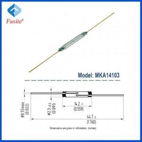 俄罗斯原装进口 MKA14103 干簧管 磁控管 2.3*14.2mm AT齐全