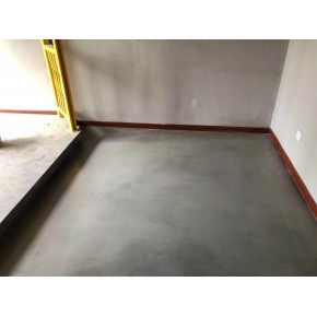 水泥自流平施工过的地面是水平的吗?