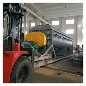 脱硫石膏粉桨叶干燥机鲁干牌烘干设备 已经投入生产