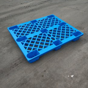 塑料叉车托盘仓库防潮板塑料垫板地台板网格九脚仓储周转卡板栈板
