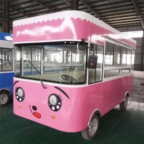 电动餐车创业 同创店车 电动餐车