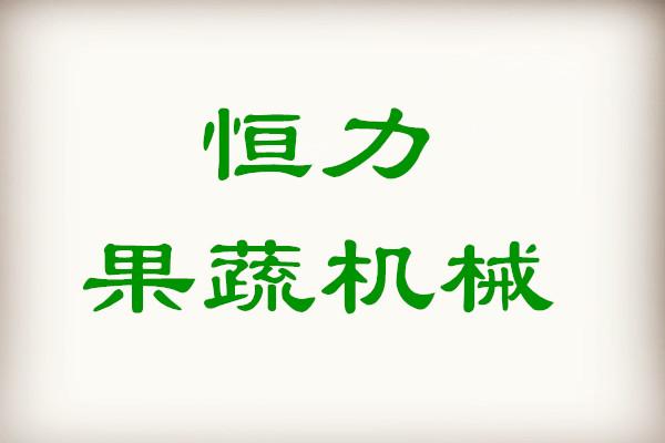 龍游恒力果蔬機械有限公司