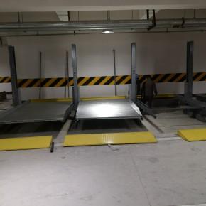 立体车库在设计时就考虑通道宽度以及尺寸高度的要求