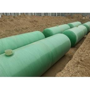 钢化玻璃化粪池的价格 众满环保设备强度高
