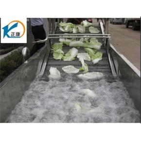 正康食品机械  蔬菜清洗设备流水线 蔬菜清洗设备