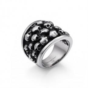情侣不锈钢戒指厂家批发 情侣不锈钢戒指厂家  卡轮价格优