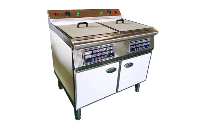 博奧廚業生產扒爐  雙缸炸爐品牌 宜春雙缸炸爐