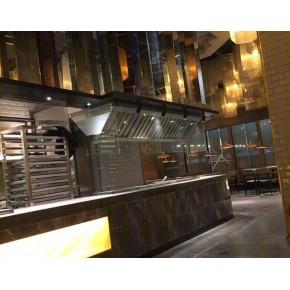 厨房地下排烟管道安装 上海厨房排烟管道 净览暖通工程公司