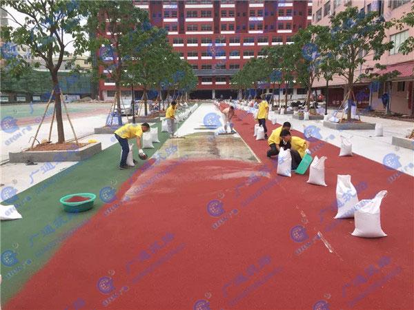 环保彩色沥青报价 广通筑路 株洲环保彩色沥青