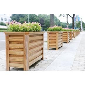 市政道路绿化PVC花箱VS铝合金花箱如何选择?