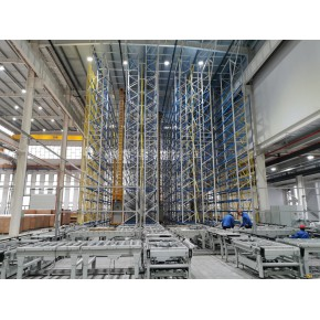 巷道堆垛机立体仓库,15米以上自动化立体库设计定制,能达制造企业