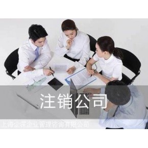 专业注销闵行区异常公司企业执照
