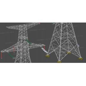 诺斯顿|高压输电塔三维激光扫描测量解决方案