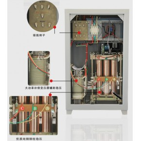 德力西SBW三相大功率补偿式电力稳压器技术参数