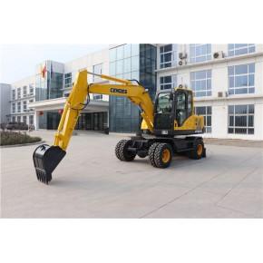 轮式挖掘机多少钱 轮式挖掘机 山东中崛重工公司