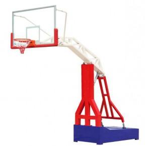 篮球架 户外成人标准预埋蓝球架 地埋式篮球架子 方管-普通