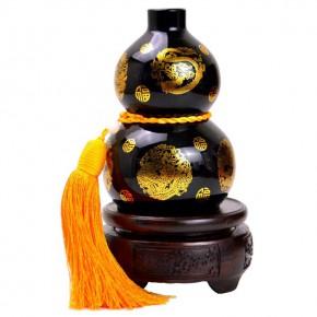 新年玉石工艺品定制 开化新年玉石工艺品 金牛玉器雕刻