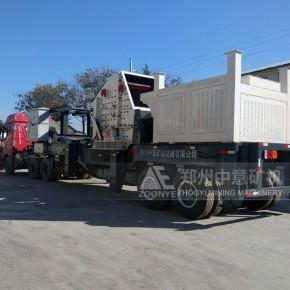 陕西投产一套280吨移动式建筑垃圾循环利用破碎机设备客户认可
