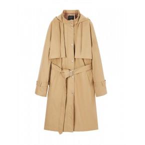 衣服进货在哪美芙妮20年冬装新款女式风衣外套