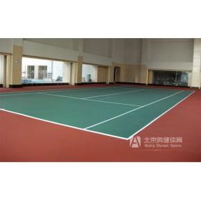 丙烯酸球场施工,篮球场塑胶地面铺装供应,奥健体育