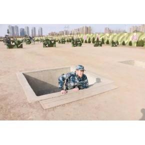 武警部队400米障碍赛器材江苏泰州军事训练4百米障碍消防训练独木桥障碍板