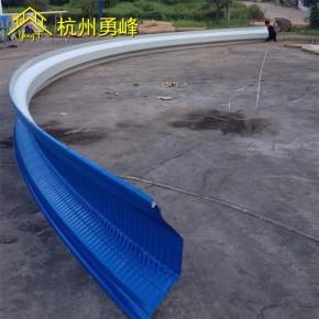 700拱型屋面板 拱形屋顶板 弧弯彩钢波纹板 拱形屋顶厂家定制
