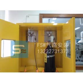 实验室气体管线工程   316L不锈钢
