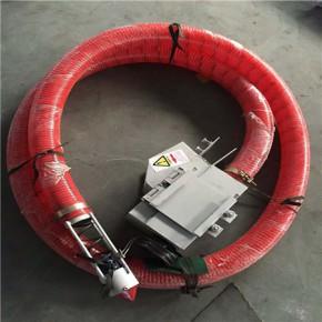电动小型侧吊式给料机/弹簧螺旋桨吸粮机