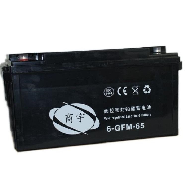 商宇蓄电池6-FM-38 12V系列尺寸