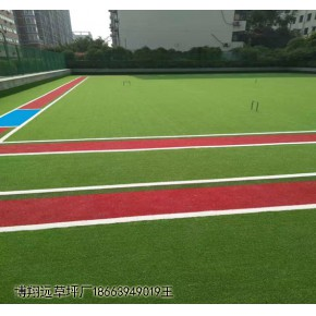 门球场草坪铺设施工 博翔远门球场人工草坪每平米价格